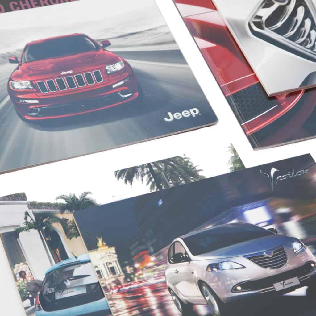 Flyer case automobilistiche